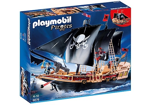 PLAYMOBIL Pirates aanvalsschip (6678)