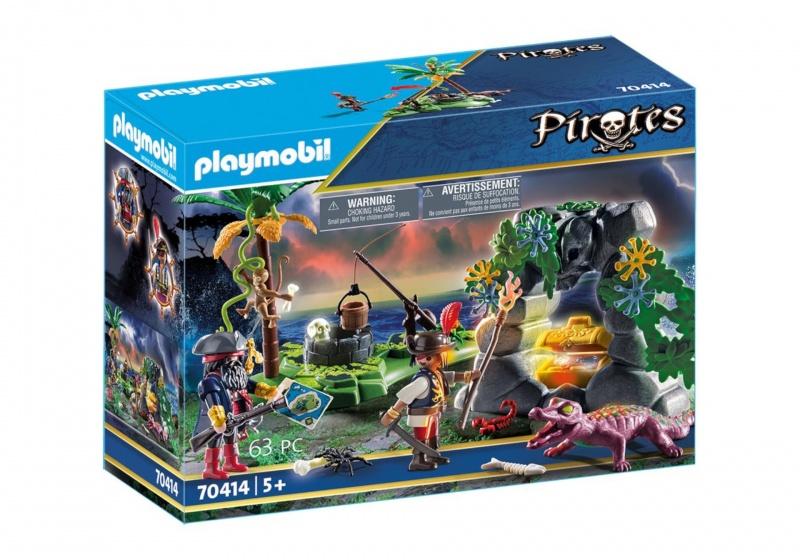 PLAYMOBIL Pirates: Piraten op schattenjacht (70414)