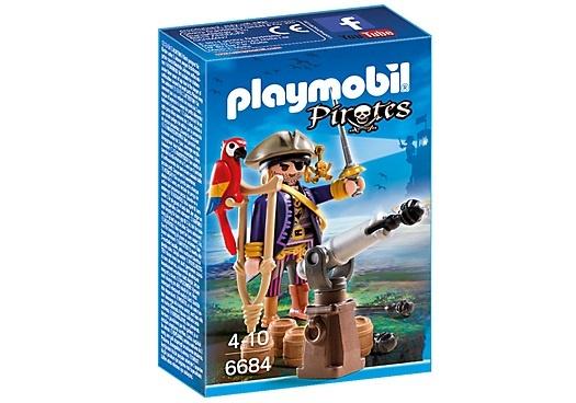 PLAYMOBIL Pirates: Piratenkapitein Eénoog (6684)