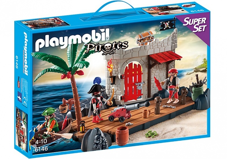 PLAYMOBIL Pirates: SuperSet Piratenfort (6146)