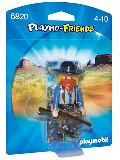 PLAYMOBIL Playmo Friends: Gemaskerde bandiet (6820)