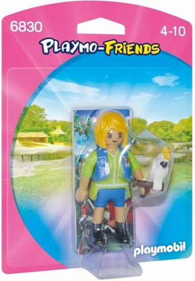 PLAYMOBIL Playmo Friends: Verzorgster Met Kaketoe (6830)
