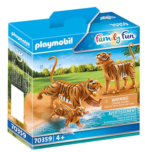 Family Fun - 2 Tigers with baby (70359)