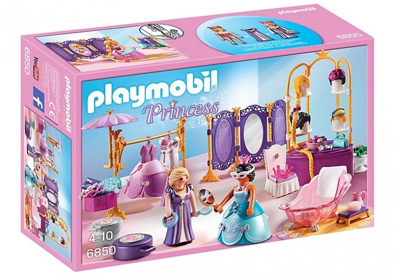 PLAYMOBIL Princess: Koninklijke dressing en salon (6850)