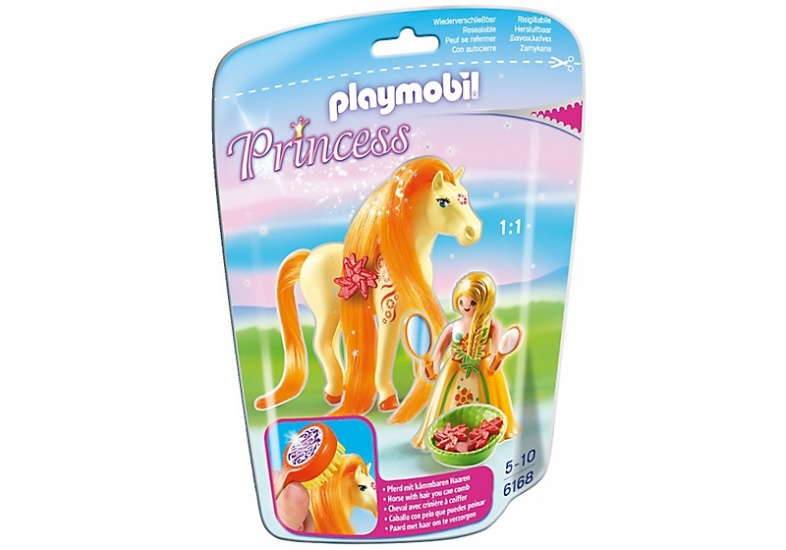 PLAYMOBIL Princess: Prinses Sunny met paard (6168)