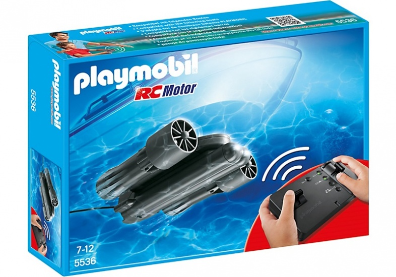 PLAYMOBIL Summer Fun: RC onderwatermotor (5536)