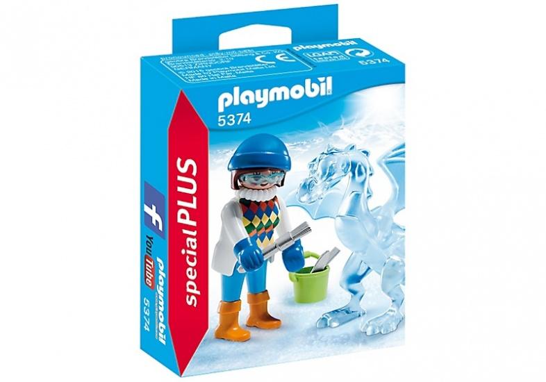 PLAYMOBIL Special Plus: Artiest met ijssculptuur (5374)
