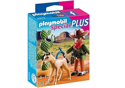 PLAYMOBIL Special Plus: Cowboy met wild veulen (5373)