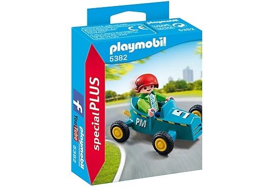 PLAYMOBIL SpecialPLUS jongen met kart 5382
