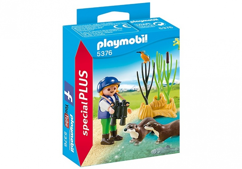 PLAYMOBIL Special Plus: Otter spotter (5376)
