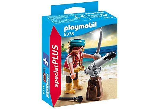PLAYMOBIL Special Plus: Piraat met scheepskanon (5378)