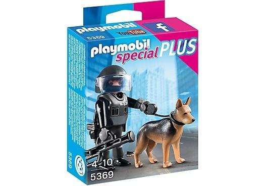 PLAYMOBIL Special Plus: Politieagent met speurhond (5369)
