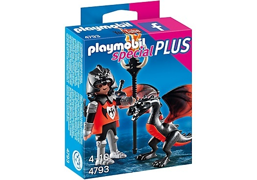 PLAYMOBIL Special Plus: Ridder met draak (4793)