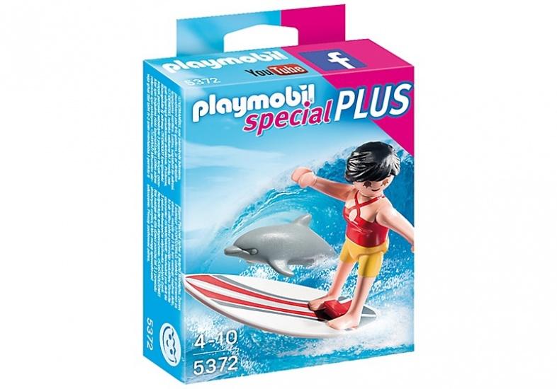 PLAYMOBIL Special Plus: Surfer met dolfijn (5372)