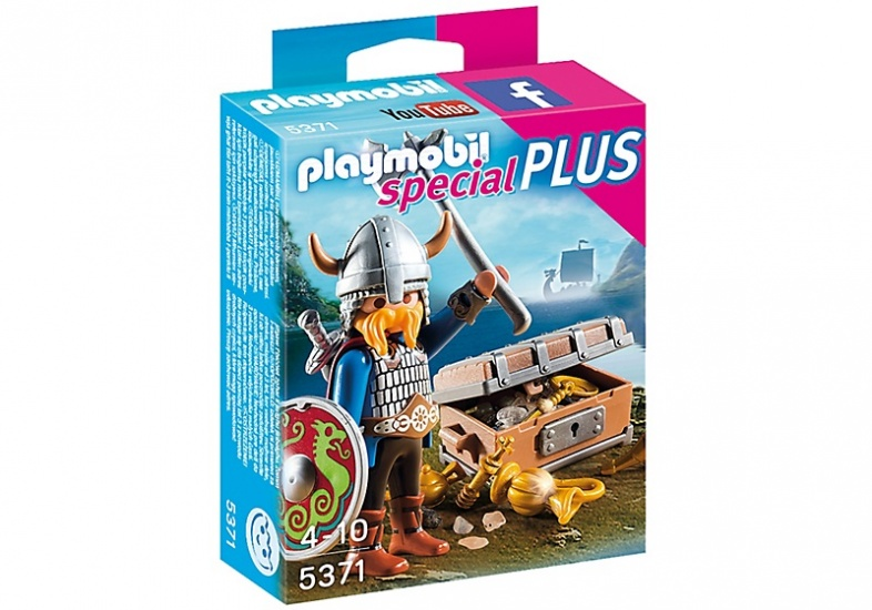 PLAYMOBIL Special Plus: Viking met schat (5371)