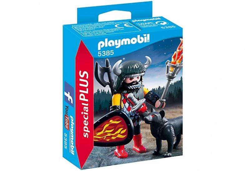 PLAYMOBIL Special Plus: Wolfskrijger (5385)