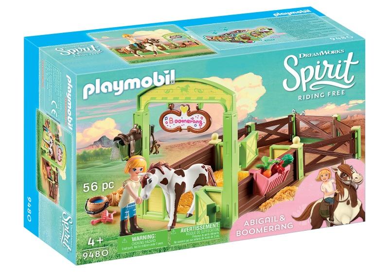 Playmobil 9480 abigail&boomerang met paard