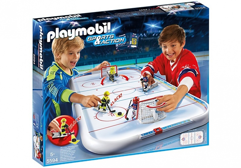 PLAYMOBIL Sport & Action: IJshockey stadion (5594)