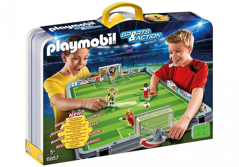 PLAYMOBIL Sport & Action: Meeneem voetbalstadion (6850)