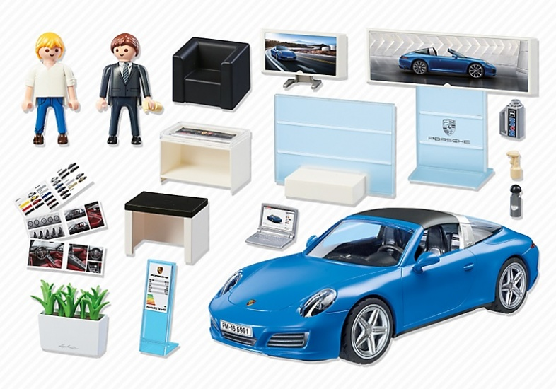 playmobil sport action porsche 911 targa 4s 5991 internet toys. Black Bedroom Furniture Sets. Home Design Ideas