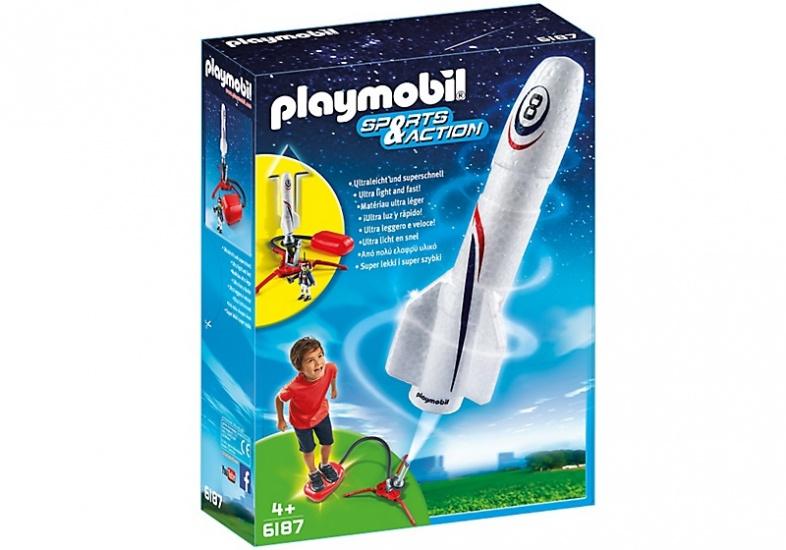 PLAYMOBIL Sport & Action: Raket met lanceerpomp (6187)