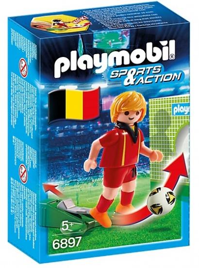 PLAYMOBIL Sport & Action: Voetbalspeler België (6897)