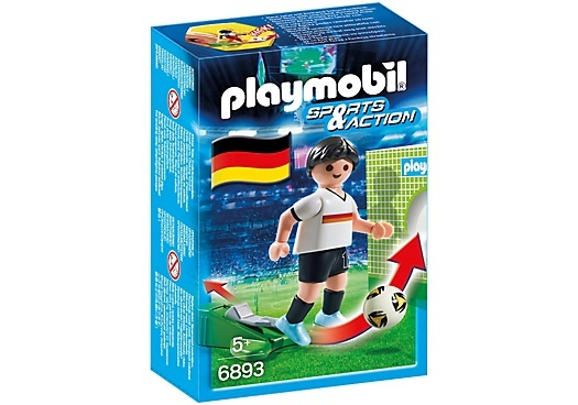 PLAYMOBIL Sport & Action: Voetbalspeler Duitsland (6893)