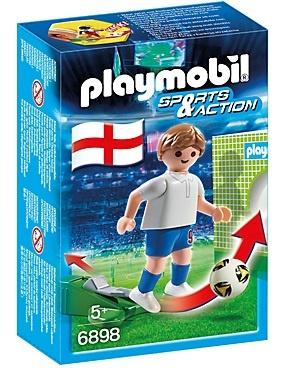 PLAYMOBIL Sport & Action: Voetbalspeler Engeland (6898)