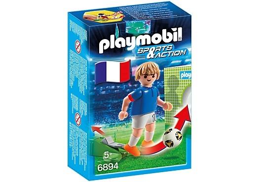PLAYMOBIL Sport & Action: Voetbalspeler Frankrijk (6894)