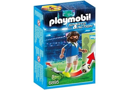 PLAYMOBIL Sport & Action: Voetbalspeler Italië (6895)