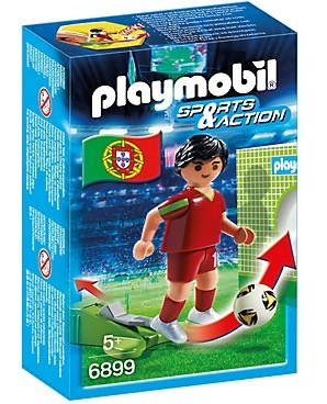 PLAYMOBIL Sport & Action: Voetbalspeler Portugal (6899)