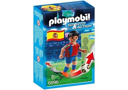 PLAYMOBIL Sport & Action: Voetbalspeler Spanje (6896)