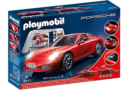 PLAYMOBIL Sport & Action: Porsche 911 Carrera S (3911)