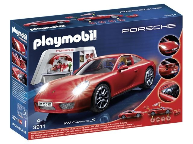 PLAYMOBIL Sport en Action Porsche 911 Carrera S (3911)