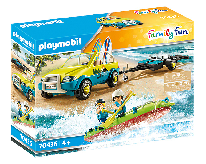 Playmobil 70436 Strandwagen met kano s
