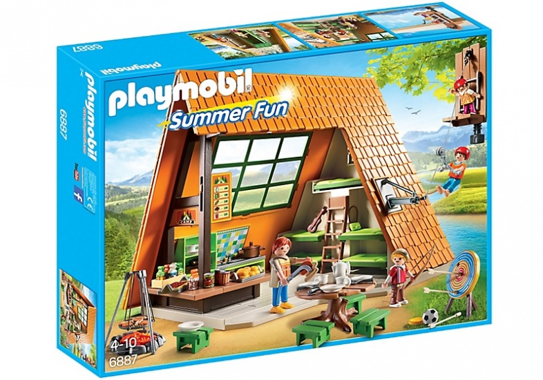PLAYMOBIL Summer Fun: Grote vakantiebungalow (6887)