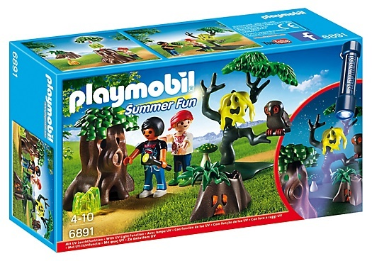 PLAYMOBIL Summer Fun: Nachtdropping met zaklamp (6891)