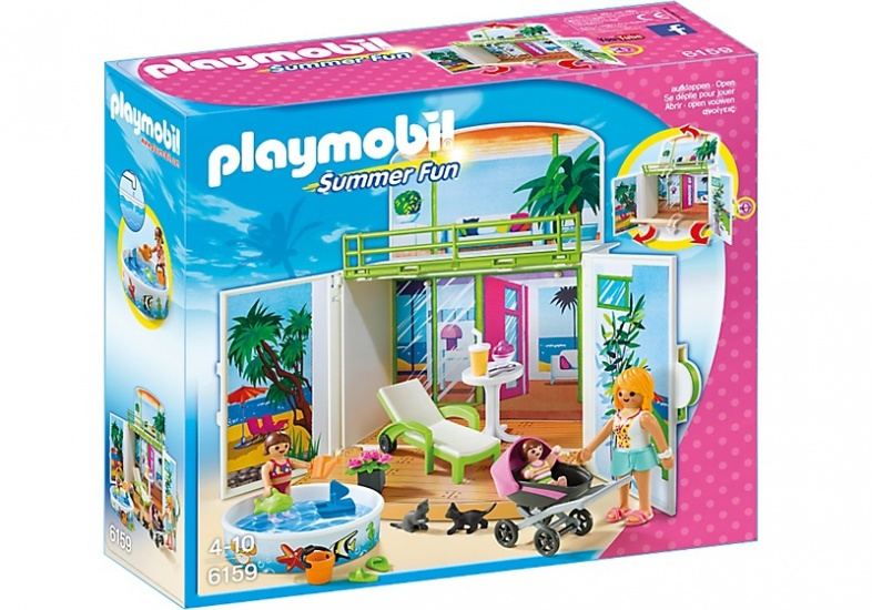 PLAYMOBIL Summer Fun: Speelbox Zonneterras (6159)