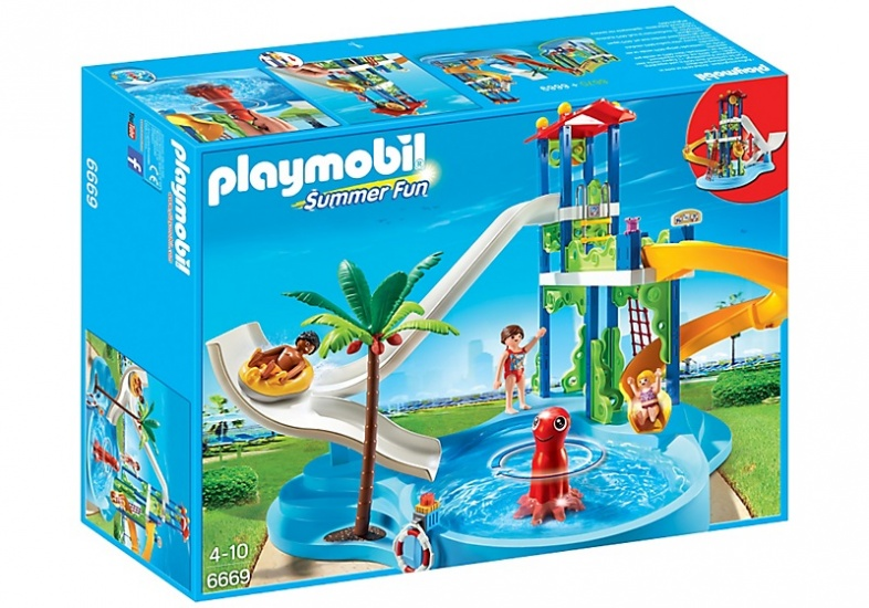 PLAYMOBIL Summer Fun: Waterpretpark met glijbanen (6669)