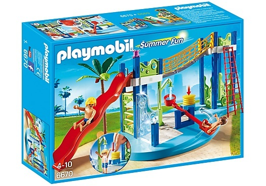 PLAYMOBIL Summer Fun: Waterspeeltuin (6670)
