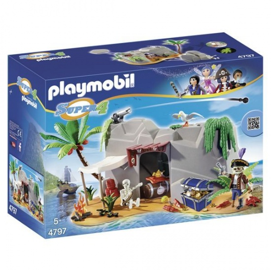 PLAYMOBIL Super 4 Cave(4797)