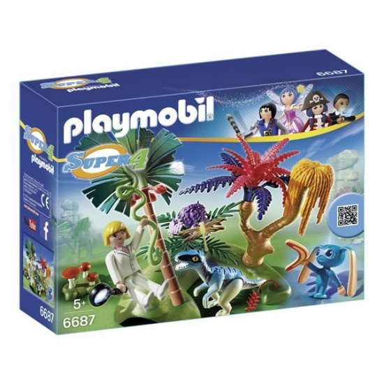 PLAYMOBIL Super 4 Island (6687)