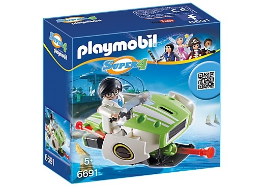 PLAYMOBIL Super 4: Skyjet (6691)