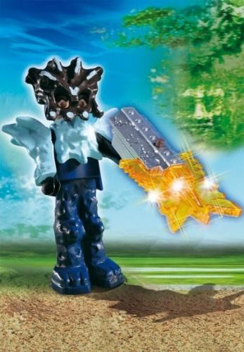 PLAYMOBIL Schattenjagers: Tempelwachter Met Wapen (4849)