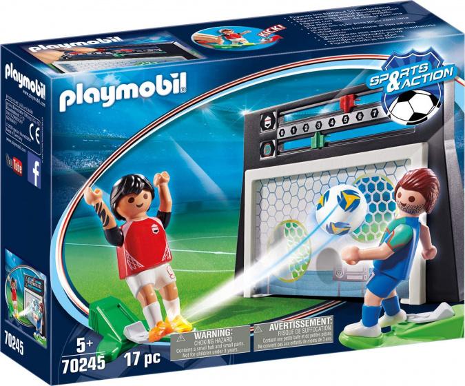 PLAYMOBIL voetbalmuur junior 18,5 x 4,5 x 13 cm