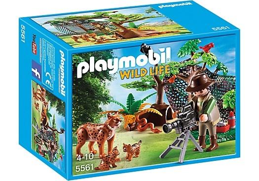PLAYMOBIL Wild Life: Lynxen met cameraman (5561)