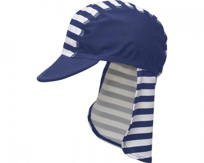 Playshoes petje UV werend blauw/wit junior 49 cm kopen