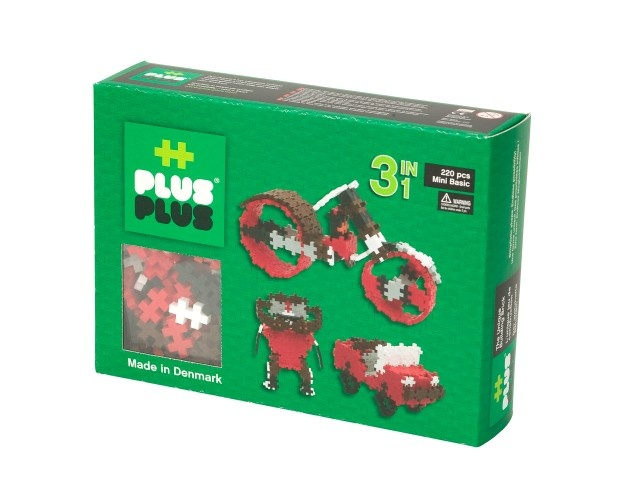 Plus Plus 3 in 1 Mini Basic 220 Stuks