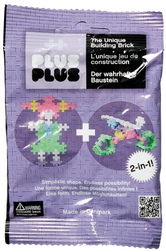Plus Plus Mini Basic 2 in 1 paars 35 stuks