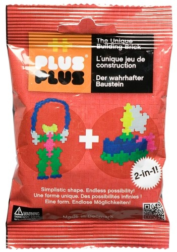 Plus Plus Mini Basic 2 in 1 rood 35 stuks